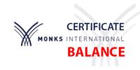certyfikat balance